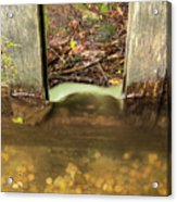 Cable Mill Flume 1 A Acrylic Print