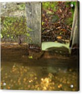 Cable Mill Flume 1 B Acrylic Print