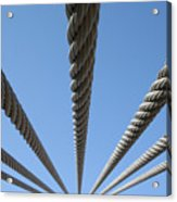 Cables To Heaven Acrylic Print