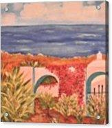 Cabo Garden Acrylic Print