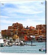 Cabo San Lucas Marina Acrylic Print