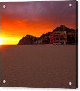 Cabo Sunset Acrylic Print