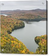 Cabot Vermont Nichols Pond Autumn Acrylic Print