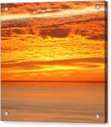 Cabrillo Sunset Acrylic Print