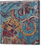 Cacaxtla Warrior I Acrylic Print