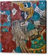 Cacaxtla Warrior II Acrylic Print