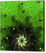 Cactus Abstract Acrylic Print
