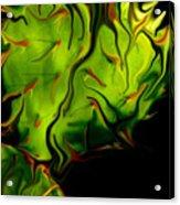 Cactus Fire Acrylic Print