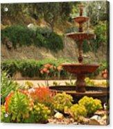 Cactus Fountain Acrylic Print