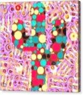 Cactus Pop Art Acrylic Print