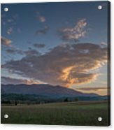 Cades Cove - Great Smoky Mountains National Park Acrylic Print