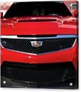 Cadillac Ats V-series Acrylic Print