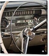 Cadillac Dash Acrylic Print