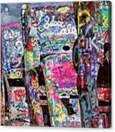 Cadillac Ranch Afternoon II Acrylic Print
