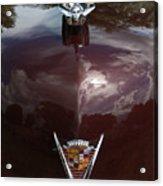 1949 Cadillac La Salle - Hood Ornaments Acrylic Print