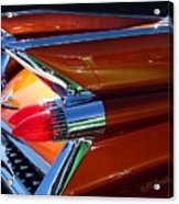 Cadillac Tail Fin View Acrylic Print