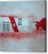 Cadmium Red Acrylic Print