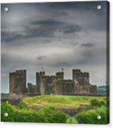 Caerphilly Castle East View 3 Acrylic Print