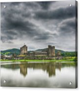 Caerphilly Castle North View 1 Acrylic Print