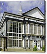 Cafe At The Pavilion Gardens - Buxton Acrylic Print