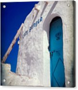Cafe Berber Acrylic Print