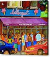 Cafe Bilboquet Ice Cream Delight Acrylic Print