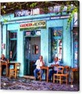 Cafe Central Acrylic Print