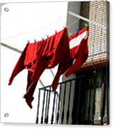 Cafe Clothing 2 Acrylic Print