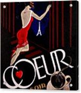 Cafe Coeur 1 Acrylic Print