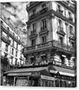 Cafe Corner - Le Bouquet Du Nord Acrylic Print