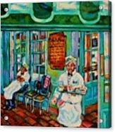 Cafe Du Monde Revisited  Acrylic Print