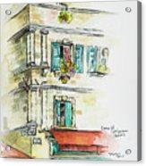 Cafe In Arles Acrylic Print