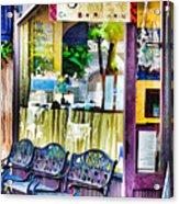 Cafe Joul Acrylic Print
