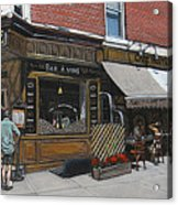 Cafe Moutarde Acrylic Print