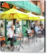 Cafe Pizzaria Acrylic Print