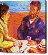 Cafe Renoir Acrylic Print