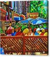 Cafe Second Cup Acrylic Print