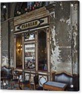 Cafe Terrace On Piazza San Marco Acrylic Print