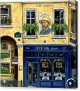 Cafe Van Gogh Acrylic Print