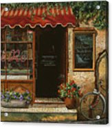 caffe Re Acrylic Print