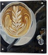 Caffe Vero Cappie Acrylic Print