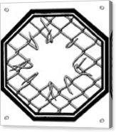 Caged 1 Acrylic Print