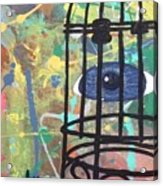 Caged Vision  Acrylic Print