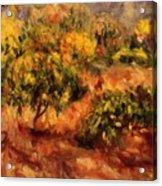 Cagnes Landscape 1919 Acrylic Print