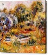 Cagnes Landscape 2 Acrylic Print