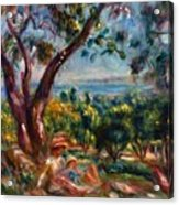 Cagnes Landscape With Woman And Child 1910 Acrylic Print