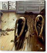 Caillebotte: Planers, 1875 Acrylic Print
