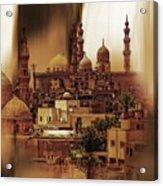 Cairo Egypt Art 03 Acrylic Print