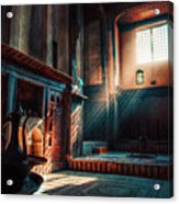 Cairo, Egypt -  Interior Of A Room In The Famous Bayt Al Suhaymi Located At Al Muizz Street In Cairo Acrylic Print