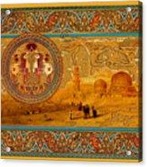 Cairo Then Acrylic Print